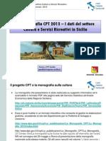 CONTI 2013 PUBBLICI TERRITORIALI SICILIA BENI CULTURALI Sicilia BB CC