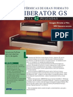 Impresora Fotolitos Oyo Liberator Gs