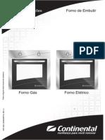 Manual Forno Continental
