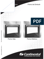 Manual Forno Continental