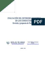 Evaluacion Del Deterioro Cognitivo en Conductores