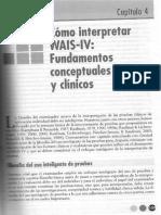 Aplicaciones Clínicas Wais IV Cap4 Interpretacion Paso a Paso