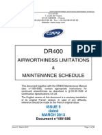 DR400 Maintenance Schedule Is5 Amdt7 April2015