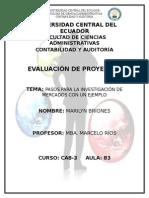 DEBER N° 1 INVESTIGACIÓN DE MERCADOS