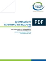 Sustainability Reporting in Singapore 2010-2011