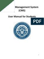 CMS User Manual - Student (1)