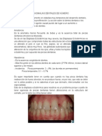 Anomalias Dentales de Número