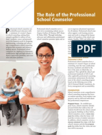 the role of the professional school counselor