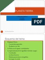 2013. El Planeta Tierra. Presentación