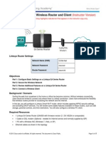 4.4.2.3 Lab - Configuring a Wireless Router and Client - ILM.pdf