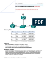 5.1.2.13 Lab - Configuring OSPFv2 on a Multiaccess Network - ILM.pdf