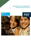 Proceso de Acogimiento. Fundamentación y Pautas Generales