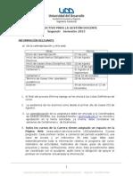 Instructivo Para La Gestión Docente 2015-2