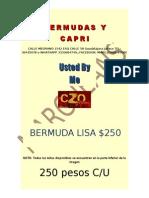 Bermuda y Resaque