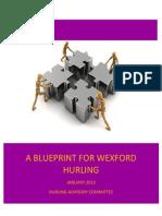 Hurling Advisory Committee Blueprint for Wexford Hurling