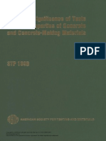 ASTM (1978) - Significance of Tests and Properties of Concrete and Concrete-making Materials