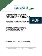 1usmg004-3-Qa-rel-0001-1_anexo 3 - Laudos Das Análises Da Qualidade Da Água Superficial, Ruído Am