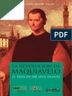 La Revolución de Maquiavelo. El Príncipe 500 Años Después - Sazo Muñoz, Diego (Ed.)