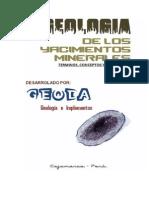 GEOLOGIA de LOS YACIMIENfdfTOS (Terminos, Conceptos y Significados)