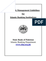 Risk Management Guidelines for Islamic Banking Institutions