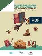 Congreso de Museos, Educación y Patrimonio