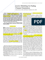 Autoregressive Modeling for Fading Channel Simulation