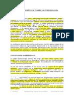 -Salud Subrayado pública enfoques y usos epidemiología