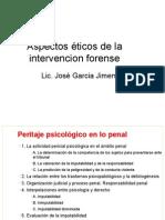 Aspectos Éticos en La Intervencion Forense