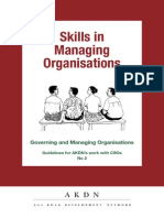 Skills in Managing Organisations