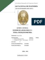 Informe5 quimica