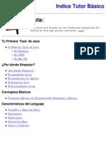 Manual de Java Basic o