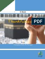 Thankfulness Shukr
