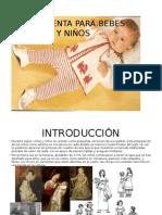 Vestuario Para Bebes de 0 a 1 Año