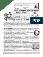 3. Las Cartas San Pablo...