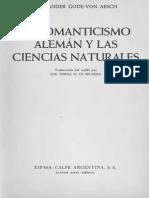 Goden Von Aesch Alexander, El Romanticismo Aleman Y Las Ciencias Naturales.pdf