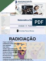Matematica Unidade 5 -Radiciação