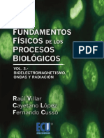 Fundamentos Físicos de Los Procesos Biológicos V3