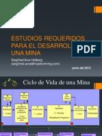 Estudios Requeridos Para El Desarrollo de Una Mina_mayo 2013