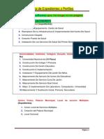 Lista de Expedientes Por Publicar