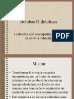 Bombas Hidráulicas. La Función Que Desempeñan Dentro de Un Sistema Hidráulico