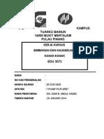 EDU 3073 Cover Assignment