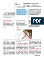 Aprenda Costurar Curso-PDF