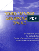 Desarrollo de Bases de Datos Espaciales y No