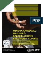 AFICHE Minería Artesanal en El Perú