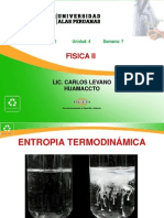 SEMANA7_ENTROPIA TERMODINAMICA