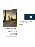 Ideas of Hell and Salvation in Scripture