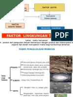 Kuliah 6 Faktor Lingkungan (Pertanian)