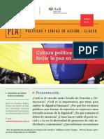 Cultura Política Para Forjar La Paz en Colombia--strong- 474