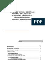 Manual de Técnicas Didcticas
