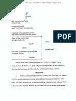 World Trade Centers Assoc. v. Port Authority complaint.pdf